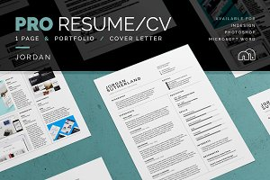 Pro Resume/CV - Jordan