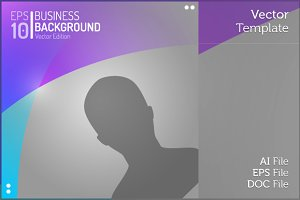 Editable People Vector Background