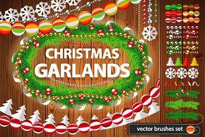 Christmas Garlands Set