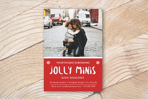 Photography Mini Sessions Template