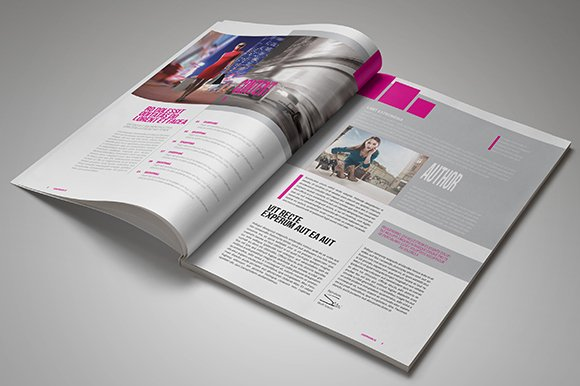 InDesign Magazine Template 26 Pages in Magazine Templates - product preview 1