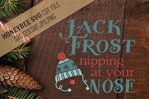 Jack Frost SVG EPS DXF JPG