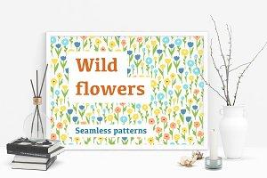 Wild flowers patterns