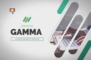 Gamma | Keynote Presentation