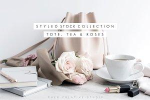 Bundle Tote, Tea & Roses