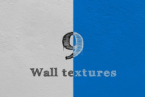 9 high-resolution wall textures.