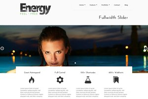 Energy - WordPress Business Theme