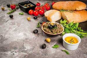 Italian appetizer tapenade