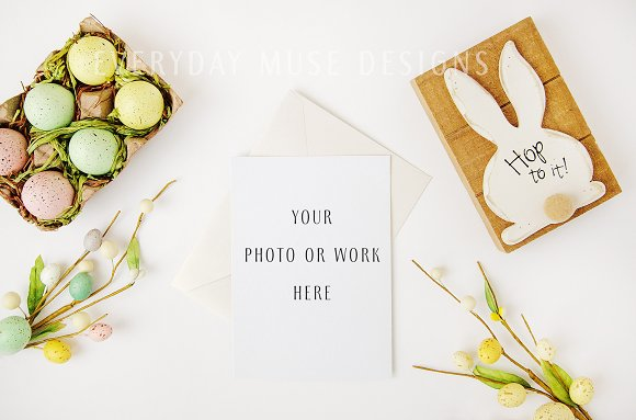 Mockup Styled Stock Easter Bundle in Mobile & Web Mockups - product preview 4