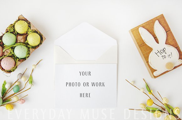 Mockup Styled Stock Easter Bundle in Mobile & Web Mockups - product preview 7