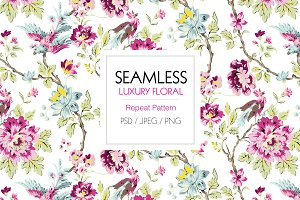 Luxurious Seamless Pattern