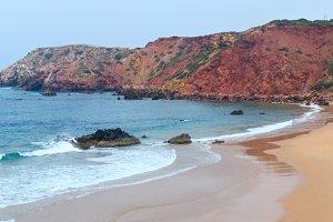 Amado Beach, Algarve, Portugal.