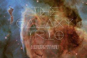 Galaxy Trio Fonts