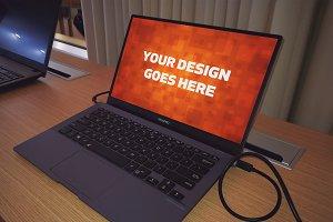 Windows Laptop Display Mock-up#25