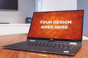Windows Laptop Display Mock-up#32