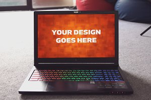 Windows Laptop Display Mock-up#33