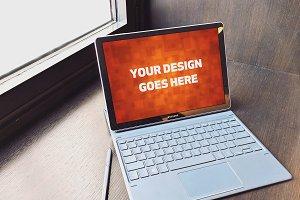 Windows Laptop Display Mock-up#35
