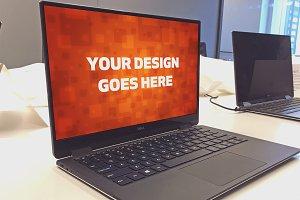 Windows Laptop Display Mock-up#36