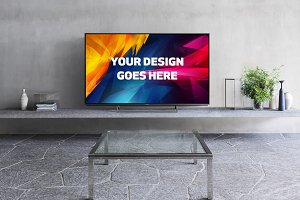 Television Display Mock-up#31