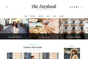 The Daybook - A WordPress Blog Theme