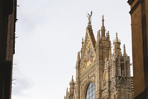 Facade of the Siena Cathedral