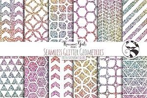 Seamless Glitter Geometrics pr