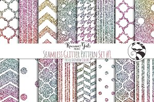 Seamless Glitter Pattern Set #1 pr