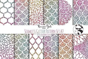 Seamless Glitter Pattern Set #2 pr