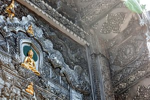 Details of Thai temple