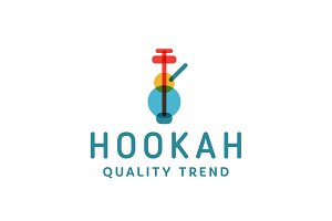 Hookah smoking shisha tobacco brand for your company, a quality logotype