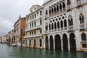 Grand Canal in Venice, Italy