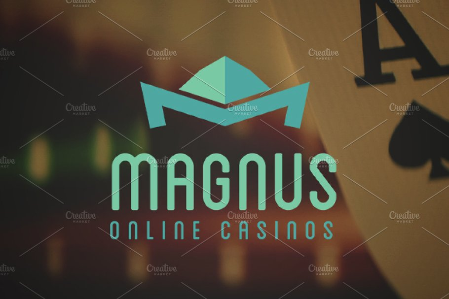 Magnus Online Casinos in Logo Templates - product preview 8