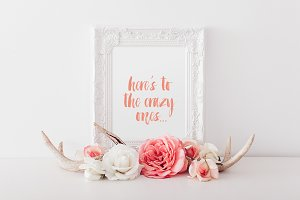 crazy ones art print - printable