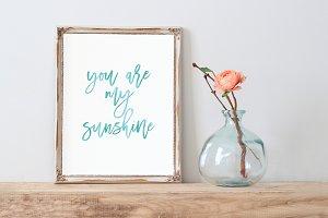 you are my sunshine - printable art