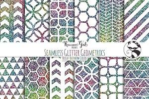 Seamless Glitter Geometrics br