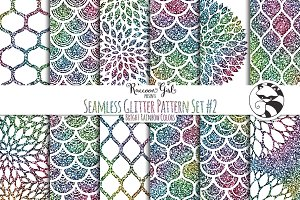 Seamless Glitter Pattern #2 br