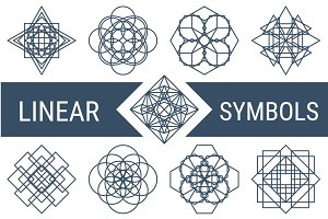 Linear Symbols Collection