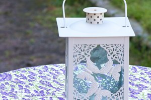 Lavender lantern