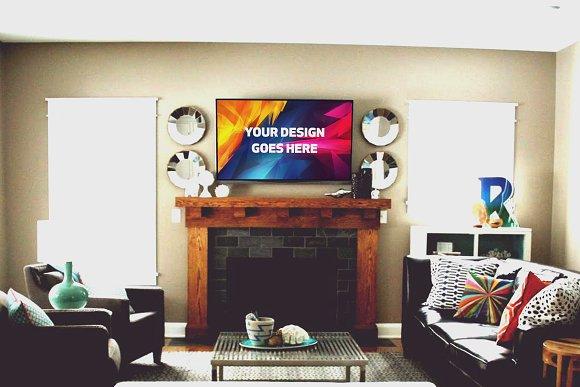 Television Display Mock-up#49
