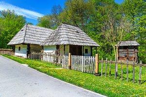 Traditional Transylvanian houses