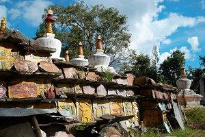 Buddhistic stupa