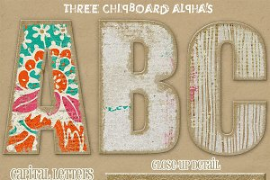 Swoon! {chipboard alphas}