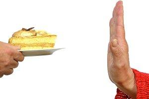Saying no to cake