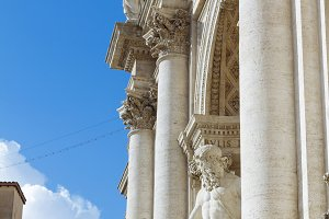 Fountain di Trevi in Rome, Italy