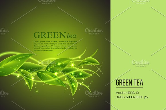 Abstract eco background.
