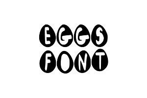 EGGS FONT.