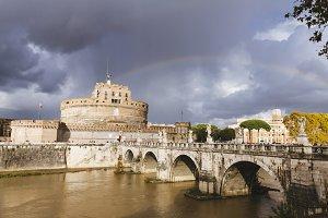 Saint Angel Castle. Rome