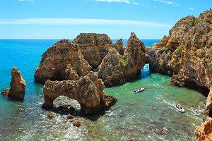 Ponta da Piedade, Algarve, Portugal.