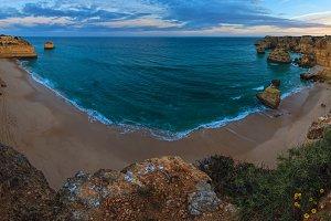 Marinha Beach, Algarve, Portugal.