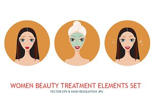Girl skincare & acne treatment steps